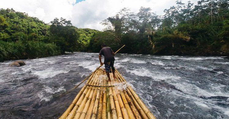 Rafting-Bambu